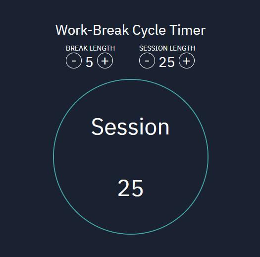 Pomodoro Clock