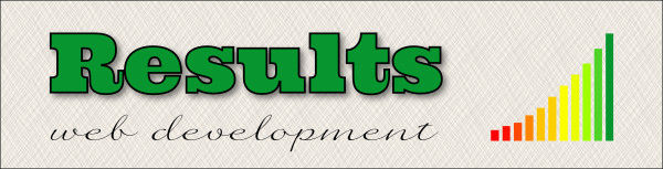 Results Web Development Company Banner
